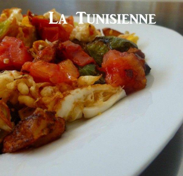 kafteji la tunisienne