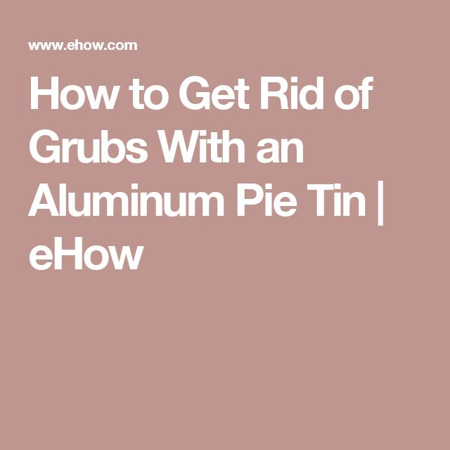 how to get rid of pie