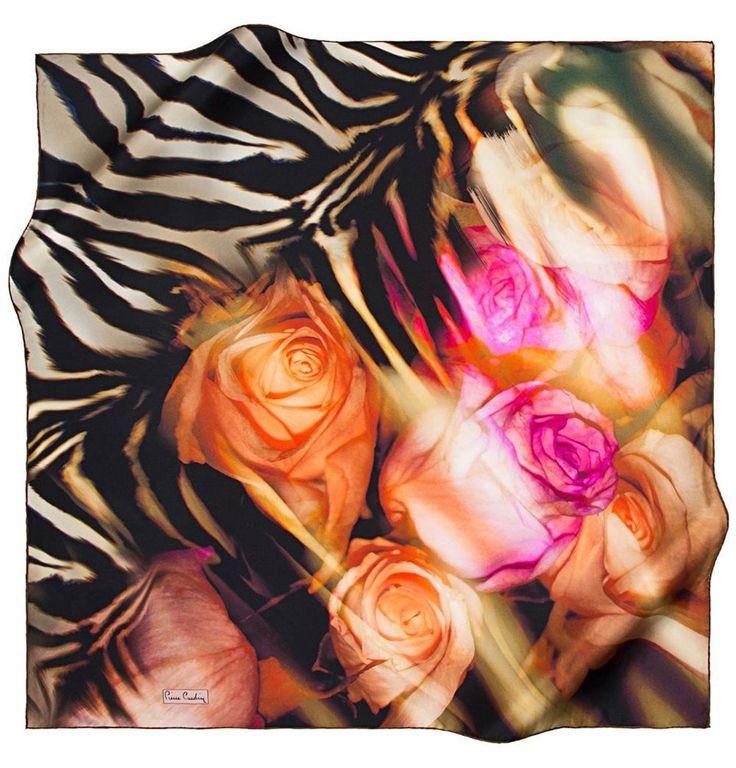Pierre Cardin Pure Silk Turkish Hijab Scarf #6889