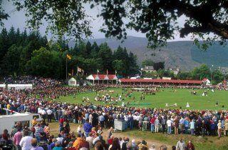 Jeux de Braemar, Highland Games, Ecosse