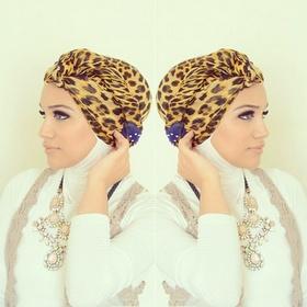 Turban style hijab tutorial by Hijabs & Co