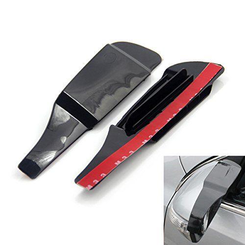 Car Side Mirror Rain Shield Protector with Wind-gap