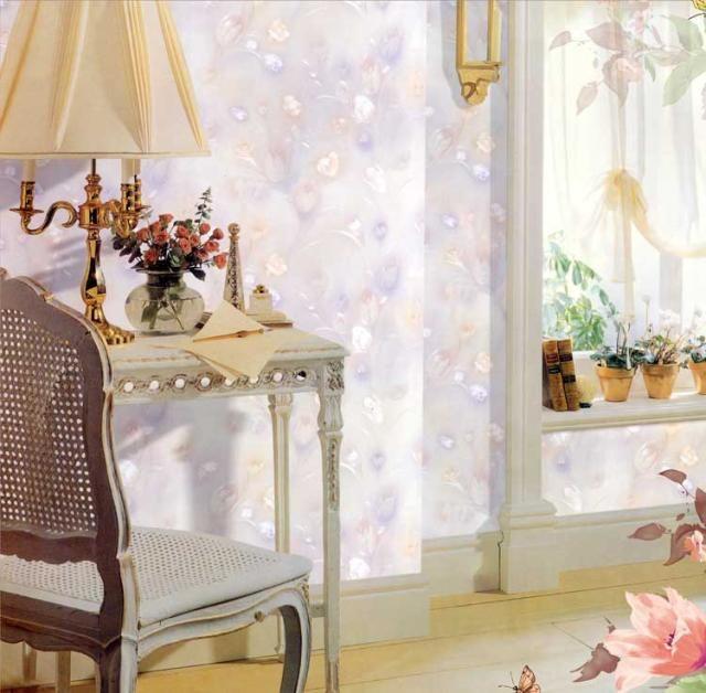 Waterdichte warme europese bloemen pvc behang studie slaapkamer tv instelling muur bloem monogatari synchrone embossing technologie