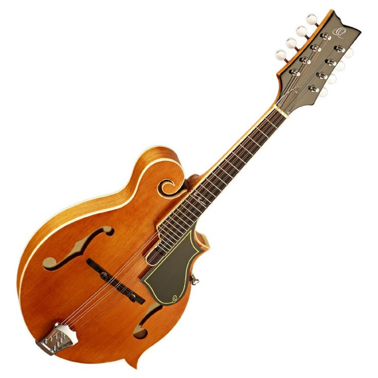 $535E = $595  Ortega RMF50VY Bandolim Estilo-F, Amarelo Vintage na Gear4Music.com