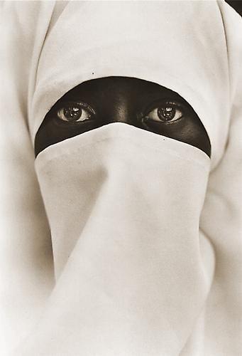 Muslim Woman, New York City  1990  printed 2007  platinum/palladium print by Chester Higgins Jr.