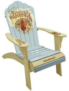 The Painted Adirondack Chair from Margaritaville has a comfortable and sturdy wood construction for years of use. Our Adirondacks come in several styles so you'll be sure to find the perfect chair for spicing up any outdoor chillin' space.