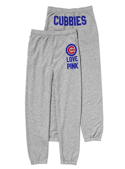 Chicago Cubs campus pant by Victoria's Secret Pink - LOVE!