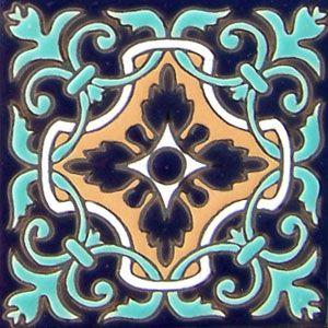 High relief Mexican tiles: rdc 68
