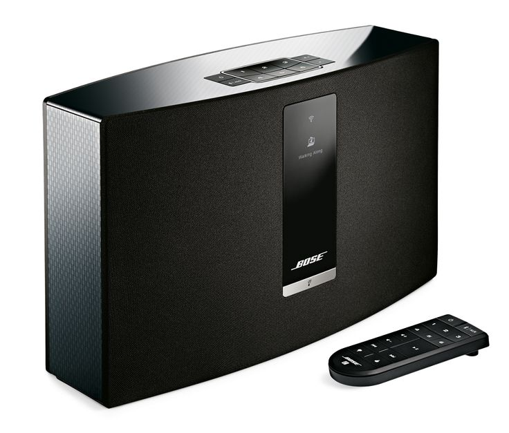 The Bose SoundTouch 20 wireless music system streams popular music services like Spotify, Pandora iHeartRadio  and Deezer, Internet radio and your music library effortlessly over your home Wi-Fi network.