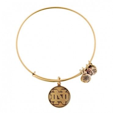 University of Notre Dame Logo Charm Bangle from Alex and Ani, WANT.