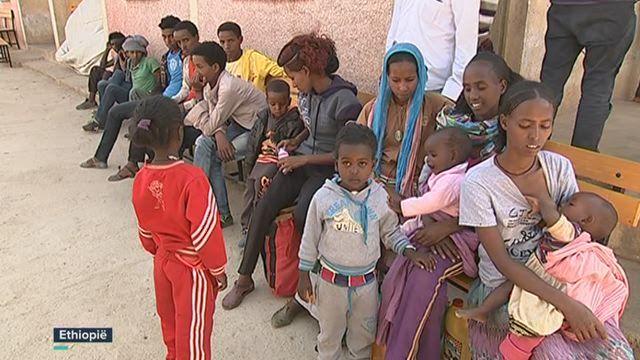 De vluchtelingen komen uit buurlanden Zuid-Soedan, Somalië en Eritrea. Erithrea is op dit ogenblik berucht om zijn schending van de mensenrechten. Bij de vluchtelingen zijn ook veel kinderen. Katrien Vanderschoot ging kijken in het registratiecentrum van Enda-baguna.