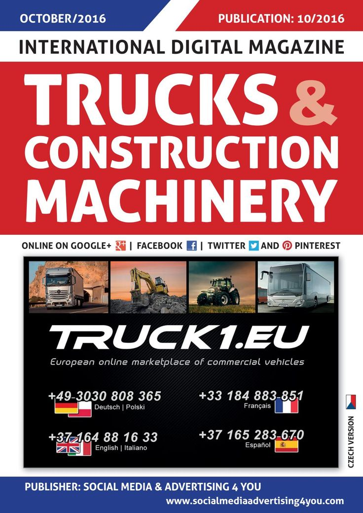 TRUCKS & CONSTRUCTION MACHINERY - October 2016
