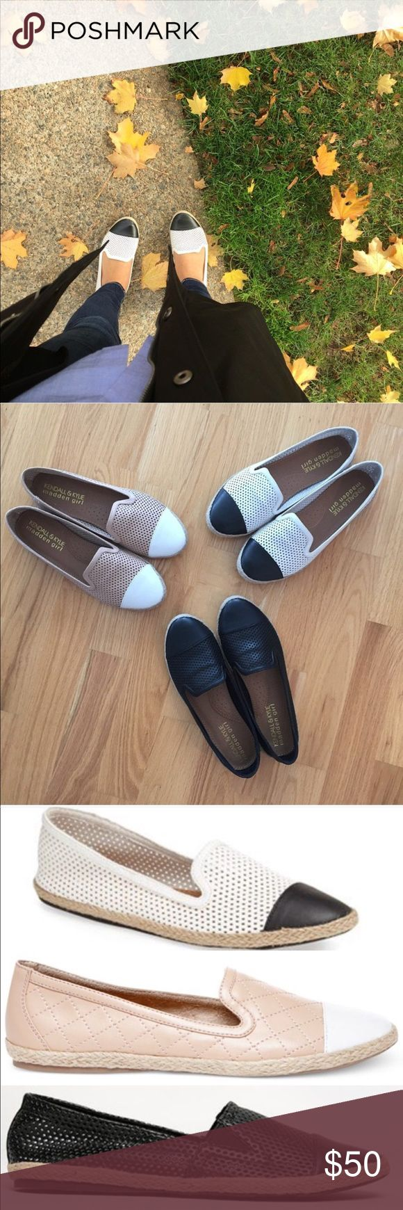 Kendall & Kylie Poppyyy Espadrille Flats New in box. Thanks to my shoe hoarding ways I have a new pair of these. However, I can probably still send them back to Nordstrom. 🤔 Madden Girl Shoes