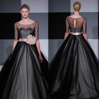 (Isaac Mizrahi for Kleinfeld)  Spring 2013 Wedding Dress Trends | Portrait Backs| Brides.com