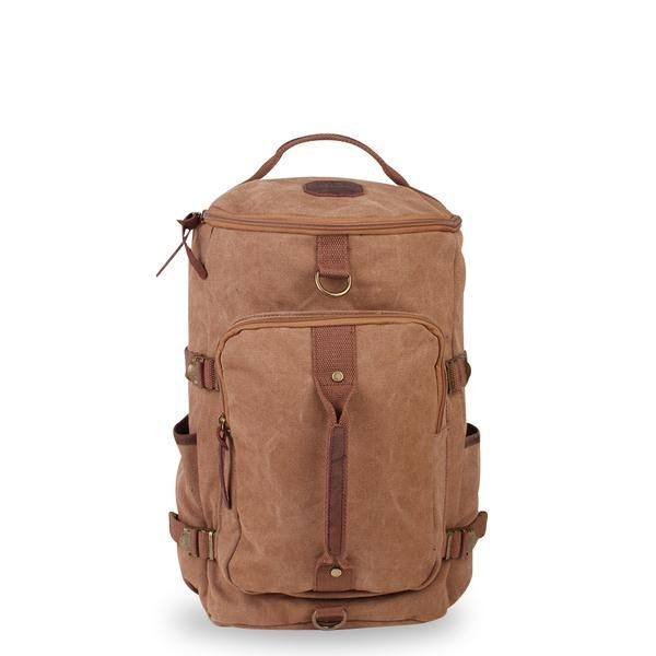 Kakadu Vintage Duffle Backpack - Leather Trimmed in 2018   Travel ... 3100904139