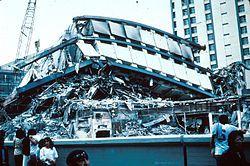 Apartment Complex Pino Suárez, 1985 Mexico City earthquake