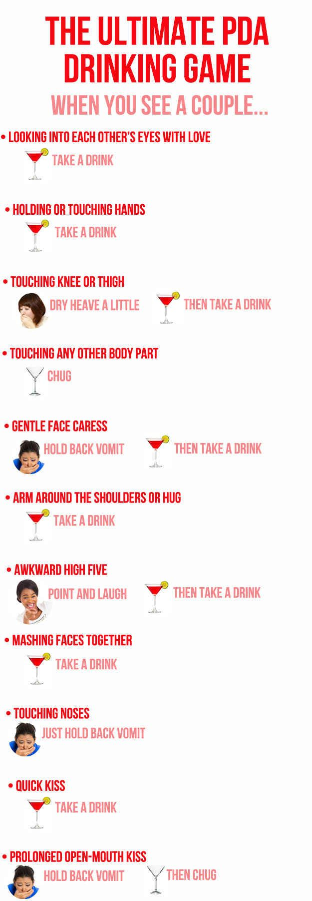 The Ultimate Valentine's Day Drinking Game