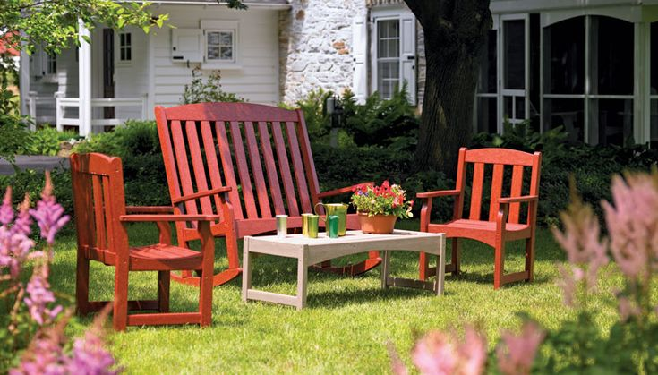 17 Best Images About Recycled Plastic Outdoor Furniture On