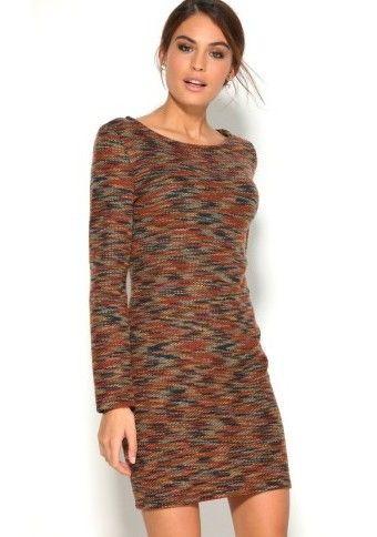 Pleteninové žíhané šaty #Modinosk