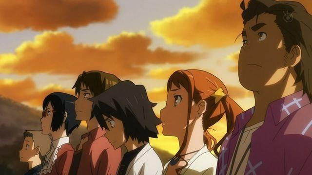 Super Peace Busters Anohana Anime Japanese Animation