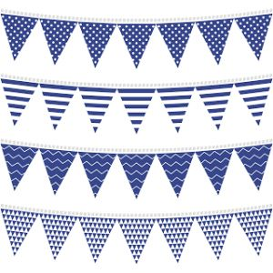 Free Printable 23 O Nautical Theme Baby Shower Banner