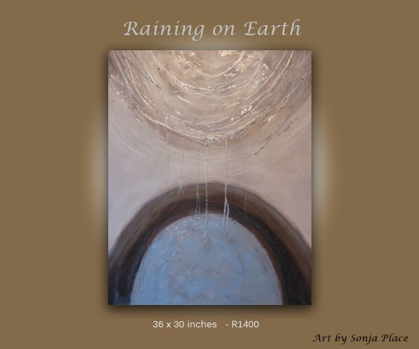 Raining on Earth