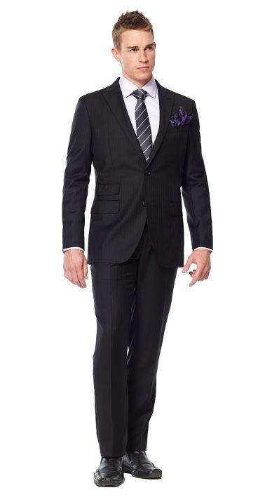 1000  ideas about Black Pinstripe Suit on Pinterest | Pinstripe