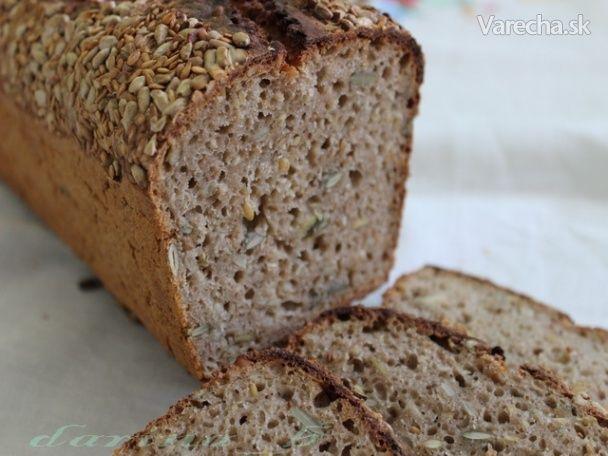 Ražno-pohánkový chlieb s kváskom (fotorecept) - Recept