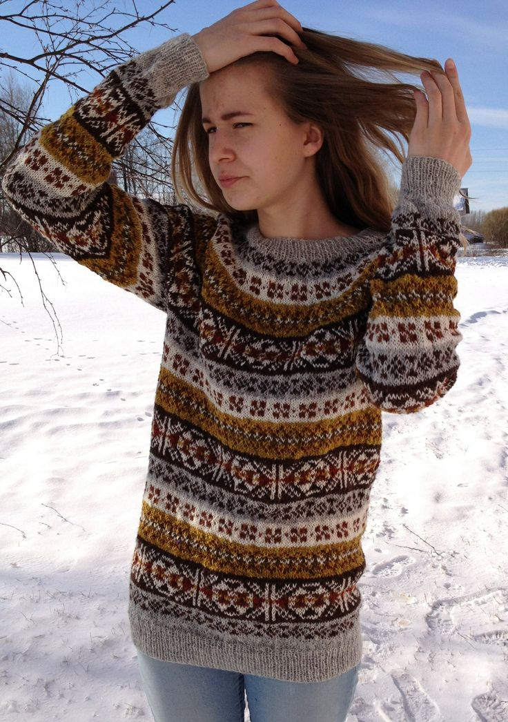 151 best Fair Isle and Nordic images on Pinterest | Blouses ...