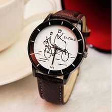 New listing Yazole women watch Luxury Brand Watches Quartz Clock Fashion Leather belts Watch Cheap Sports wristwatch relogio 344(China (Mainland))