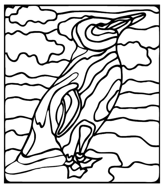 google images coloring pages penguin - photo#33