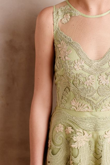 Embroidered Panna Dress