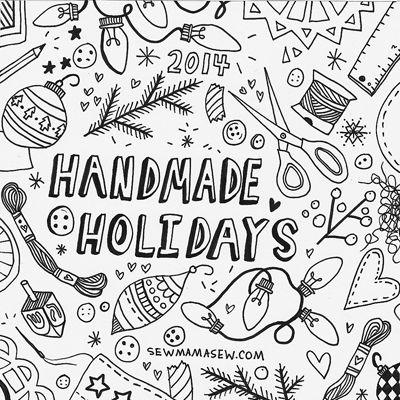 8th Annual Handmade Holidays in November | Sew Mama Sew | #handmadeholidays