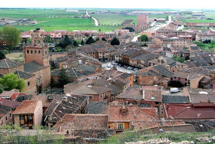 Vista general de la Villa de Ayllón