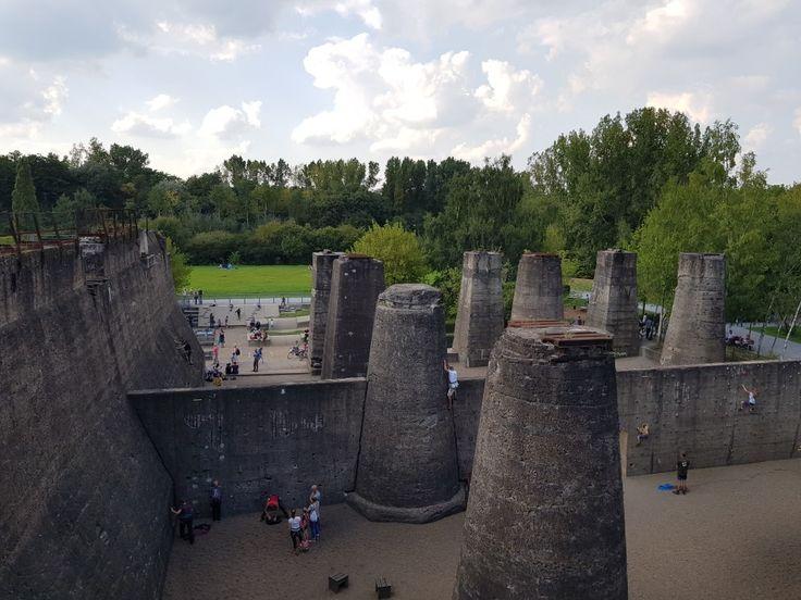 Landschaftspark Nord in Duisburg - Kletterpark 👍