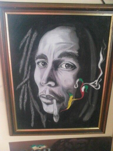 New bob Marley in chalk by me!!!