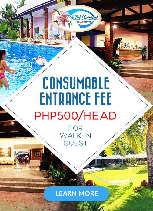 Wild Orchid Beach Resort Subic Bay Consumable Entrance Fee Consumable Entrance Fee Php500 Head