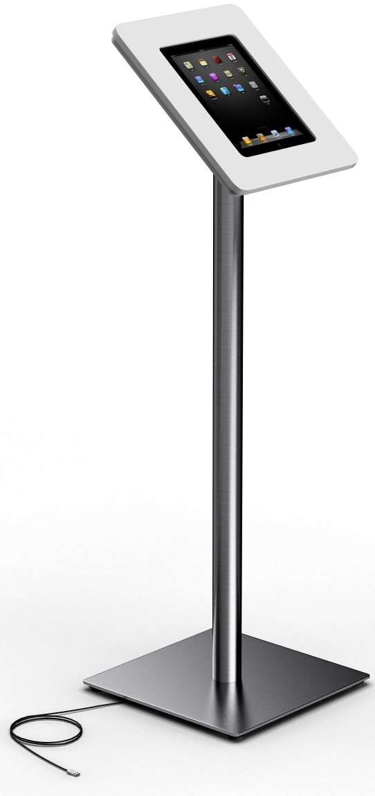 ipad stands | Secure Ipad Floor Stand - Secure Apple iPad stands