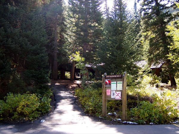 14. Spruces Campground, Big Cottonwood Canyon
