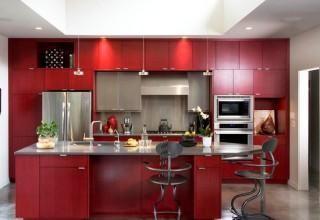 cozinhas vermelhas : cozinhas vermelhas cozinhas incr?veis cozinhas pequenas cozinhas ...