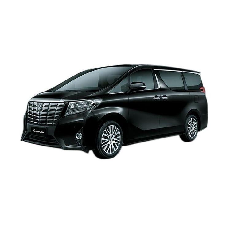 Hasil gambar untuk Toyota Alphard 2.5 G A/T Hybrid Mobil - Black
