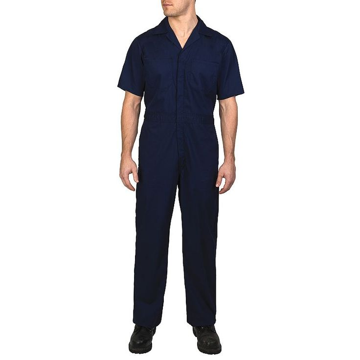 Men's Walls Coverall, Size: 46 Long, Dark Blue