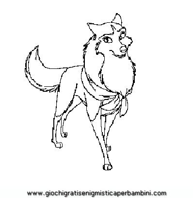balto coloring pages online - photo#46