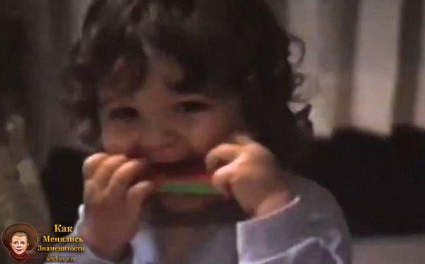 Сонни Мур (Skrillex - Скриллекс) в раннем детстве