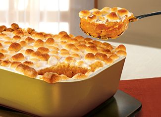 Marshmallow Sweet Potato casserole  #main-course #recipe #healthy #recipes #dinner