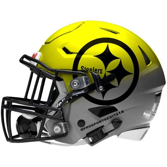 I'm not a steelers fan but I really like this helmet design