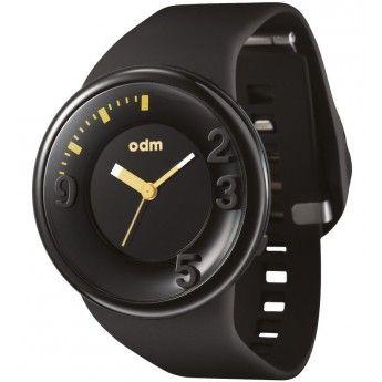 ¡Relojes con encanto! Reloj Negro y Dorado Odm Colección Minute http://www.tutunca.es/reloj-negro-y-dorado-odm-coleccion-minute