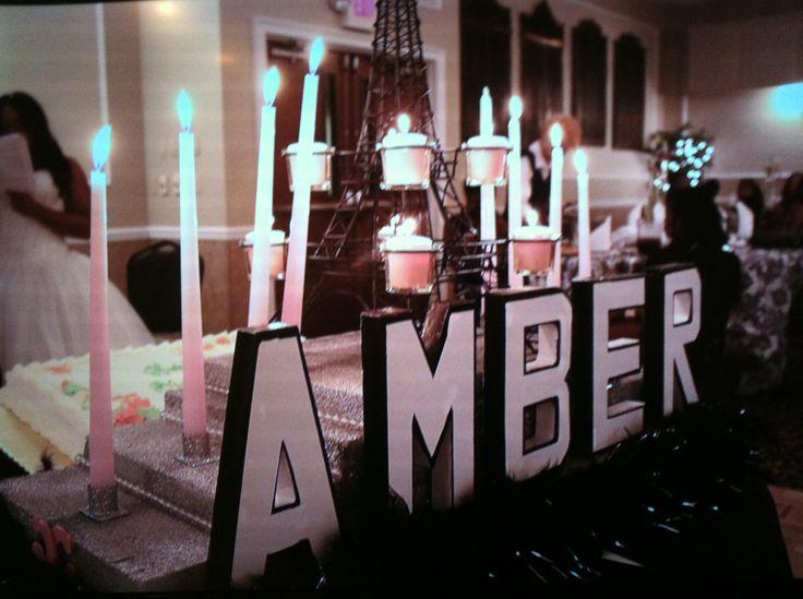 Amber's Sweet Sixteen