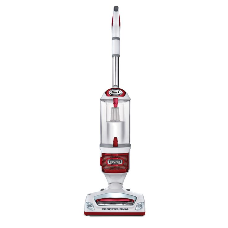 This Shark vacuum is three vacuums in one: a powerful upright, a Lift-Away pod for portable cleaning and a convenient canister vacuum. With the upright feature of this Shark Rotator Lift Away Vacuum, you never lose suction.