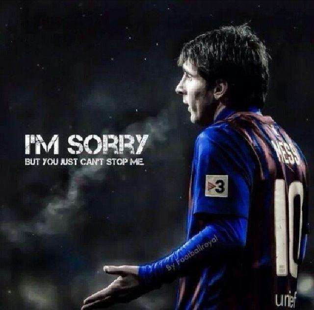 Leo Messi of FC Barcelona. #KingMessi